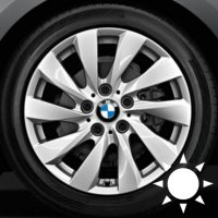 "17"" BMW 381 wheels 36116796206"