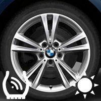 "18"" BMW 385 wheels 36116796212 36116796213"