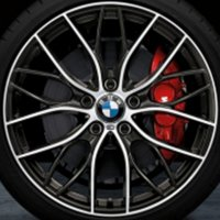 "19"" BMW 405M wheels 36116796220 36116796221"