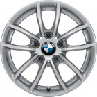 "new 16"" BMW 378 alloy wheels"