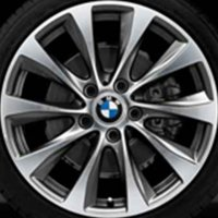 "18"" BMW 387 wheels 36116796216 36116796217"