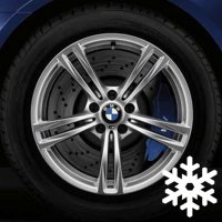 "19"" BMW 408M wheels 36112284252 36112284253"