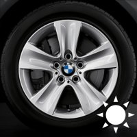 "17"" BMW 327 wheels 36116790172"