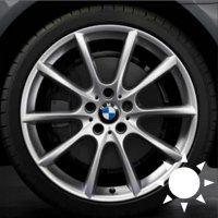 "18"" BMW 281 wheels 36116783521 36116783522"