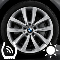 "19"" BMW 331 wheels 36116790178 36116790179"