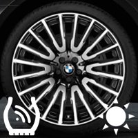 "21"" BMW 629 wheels 36116863112 36116869014"