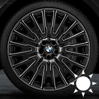 "21"" BMW 629 wheels 36116869013 36116869014"