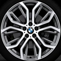 "21"" BMW 375 Performance wheels 36116796149 36116796151"