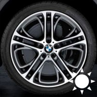 "21"" BMW 310M wheels 36116854564 36116854565"