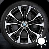 "21"" BMW 599M wheels 36116859423 36116859424"