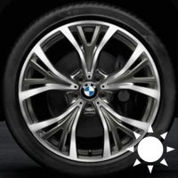 "21"" BMW 627 wheels 36116863100 36116863101"