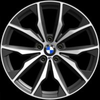 "20"" BMW 680M wheels 36117854208 36117854209"