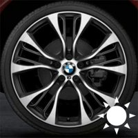 "21"" BMW 599M wheels 36116861374 36116861375"