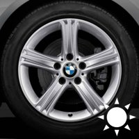 "17"" BMW 393 wheels 36116796242"