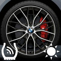 "20"" BMW 405M wheels 36116796264 36116796265"