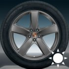 "new 19"" Porsche Sport Classic II alloy wheels"