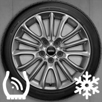 "17"" MINI 519 Net Spoke wheels 36116856047"