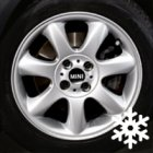 "new 16"" MINI R94 Bridge Spoke alloy wheels"