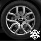 "new 17"" MINI 97 Flame Spoke alloy wheels"