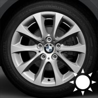 "17"" BMW 188 wheels 36116768854 36116768855"