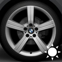 "19"" BMW 199 wheels 36116775613 36116775614"