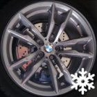 "new 20"" BMW 611M alloy wheels"