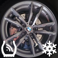 "20"" BMW 611M wheels 36112284654 36112284655"
