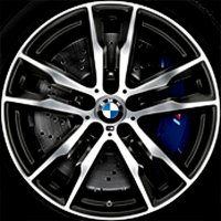 "20"" BMW 611M wheels 36118043665 36118043666"