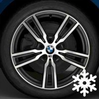 "18"" BMW 486M wheels 36117848602"