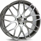 "new 23"" Brabus Monoblock Y Platinum alloy wheels"