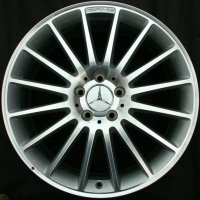 "19"" AMG V 16 Spoke wheels B66031117 B66031118"
