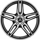 "new 19"" AMG 5 Twin Spoke alloy wheels"
