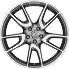 "new 20"" AMG 5 Twin Spoke alloy wheels"