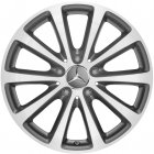 "new 17"" Mercedes Multi Spoke alloy wheels"