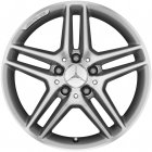 "new 17"" AMG 5 Double Spoke alloy wheels"