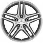 "new 17"" AMG 5 Twin Spoke alloy wheels"