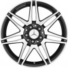 "new 18"" AMG 7 Twin Spoke alloy wheels"