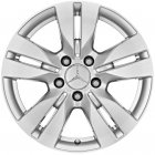 "new 16"" Mercedes 5 Twin Spoke alloy wheels"