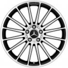 "new 19"" AMG Multispoke alloy wheels"