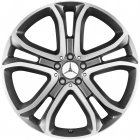 "new 21"" Mercedes 5 Twin Spoke alloy wheels"