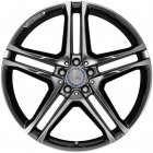 "new 21"" AMG 5 Twin Spoke alloy wheels"