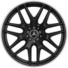 "new 21"" AMG Cross Spoke alloy wheels"