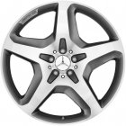 "new 21"" AMG 5 Spoke alloy wheels"