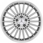 "new 18"" AMG V 22-spoke alloy wheels"
