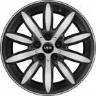 "new 17"" MINI 503 Propeller Spoke alloy wheels"