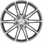 "new 19"" AMG 10 Spoke Forged alloy wheels"