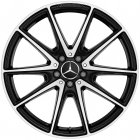 "new 20"" AMG 10 Spoke alloy wheels"