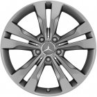 "new 18"" Mercedes 5 Twin Spoke alloy wheels"