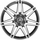 "new 19"" AMG 7 Twin Spoke alloy wheels"