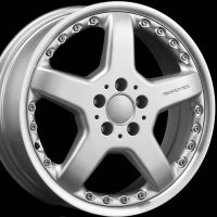 "18"" AMG III 2pc wheels B66031045 B66031046"